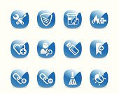 Website and Internet Security Icon Set