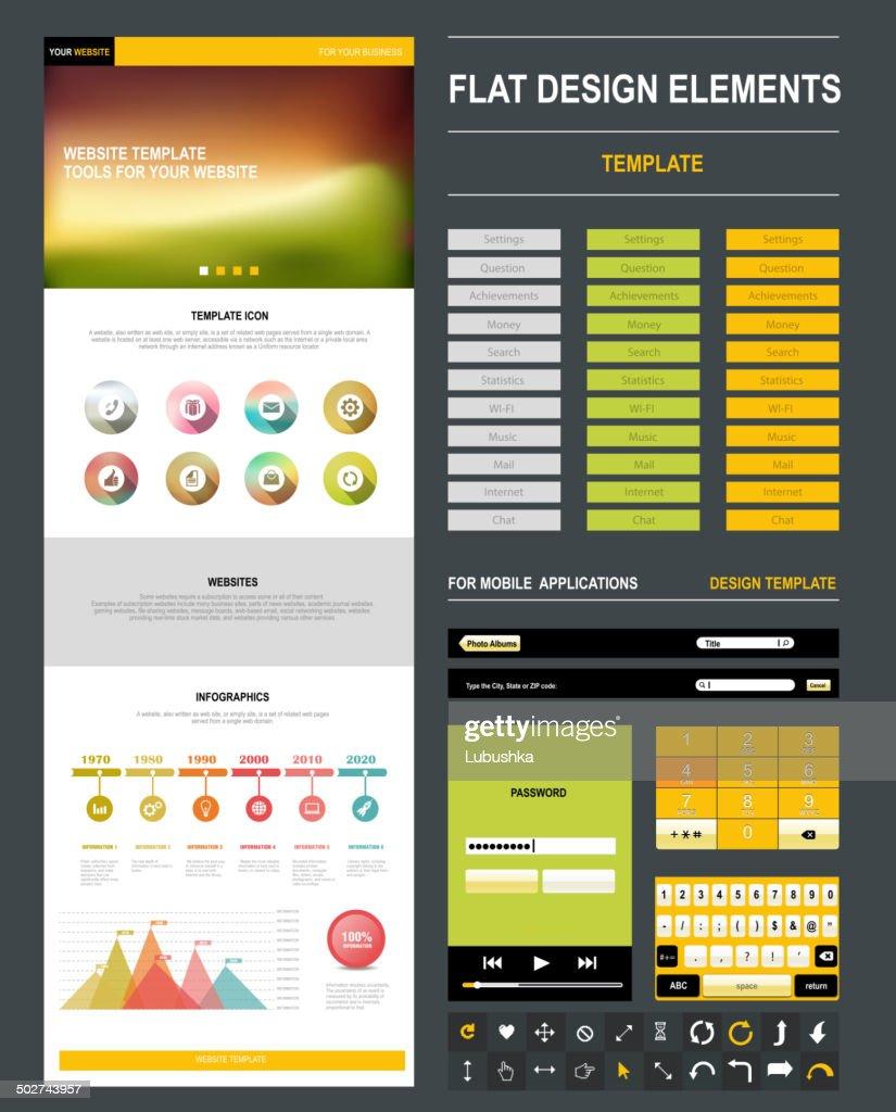 website design templateŒ