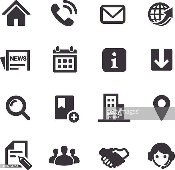 ウェブサイトのアイコン-acme シリーズ - ホームページ点のイラスト素材/クリップアート素材/マンガ素材/アイコン素材