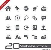 Website Icons - Basics