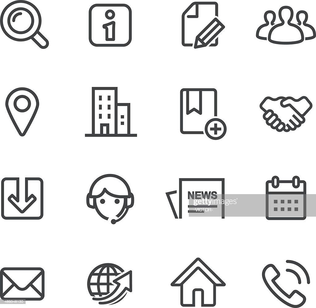 Website Icons - Line Series : stock illustration