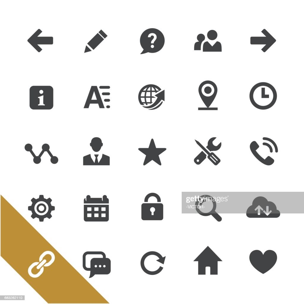 Website Icons - Select Series