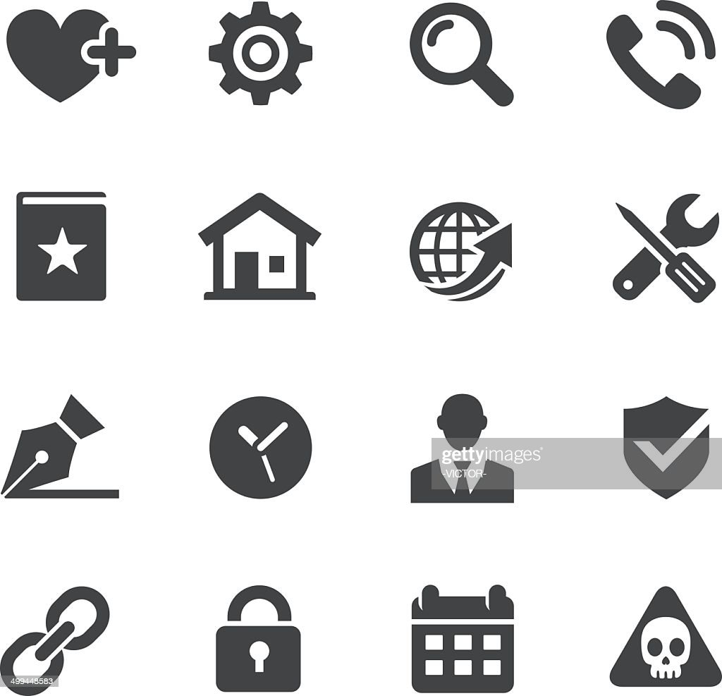 Website Icons Set - Acme Series