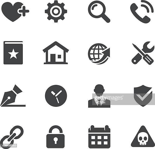 Website-Symbole-Set-Acme Series