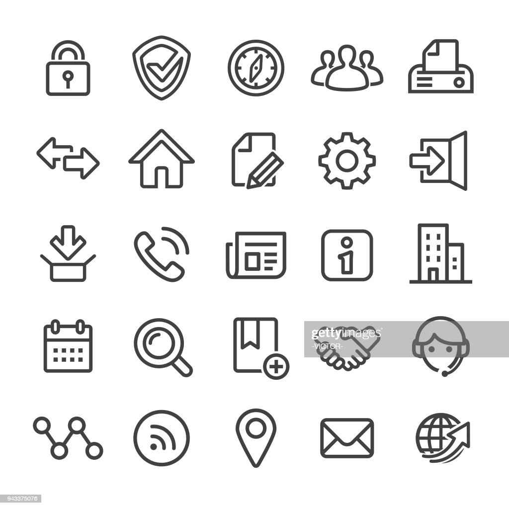 Website Icons - Smart Line Series
