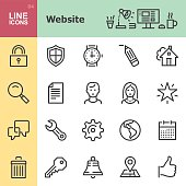 Website Line icons