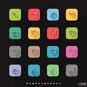 Website & Mobile Application Icons set