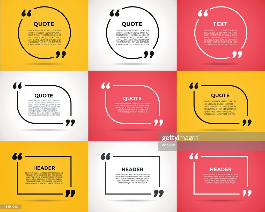 Website rewiew quote citate blank template