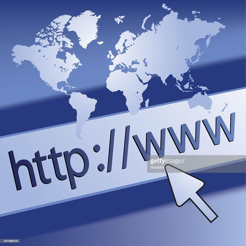 Website surfing concept