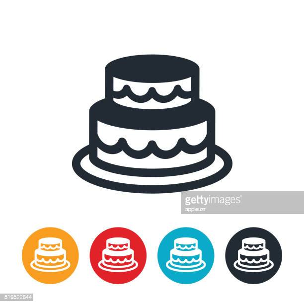 wedding cake icon vector hochzeitstorte vektorgrafiken und illustrationen getty 22892