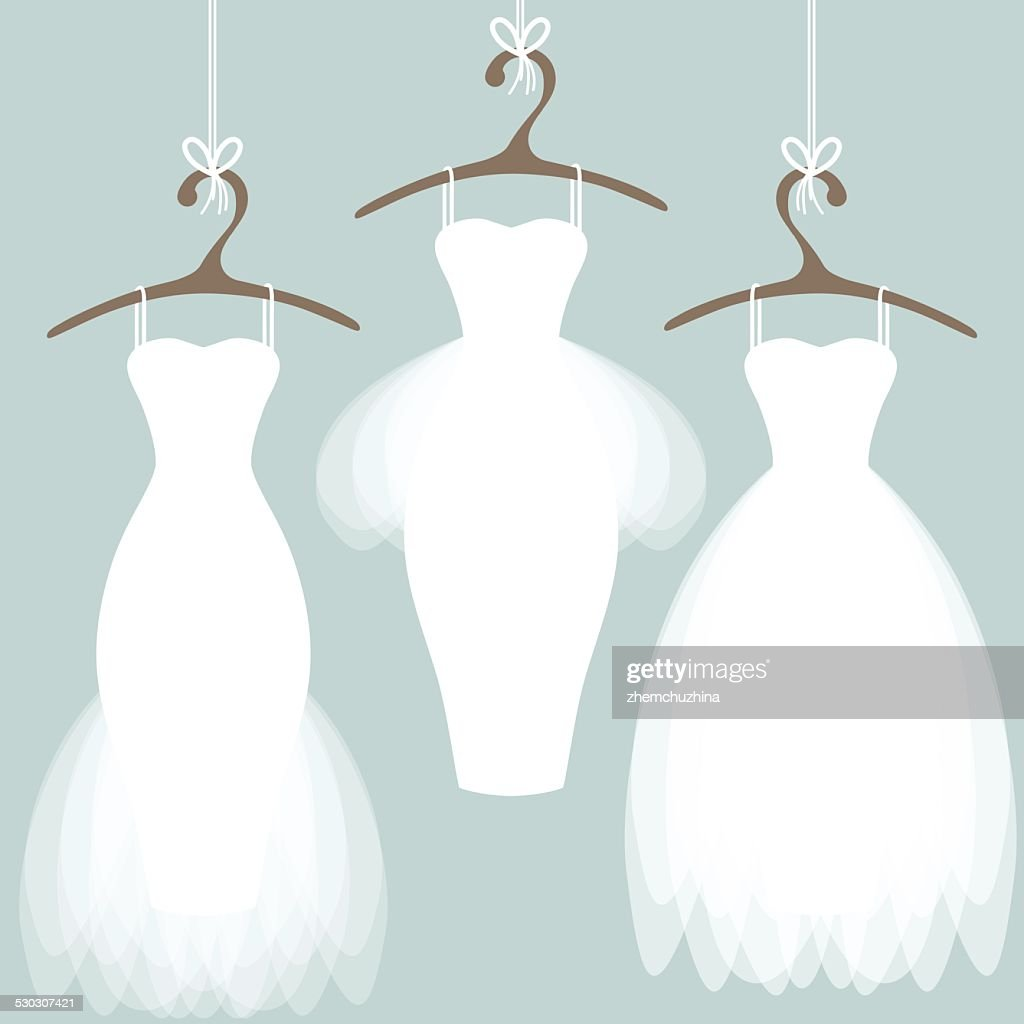 Enchanting Wedding Dress Outline Image - Wedding Dresses & Bridal ...