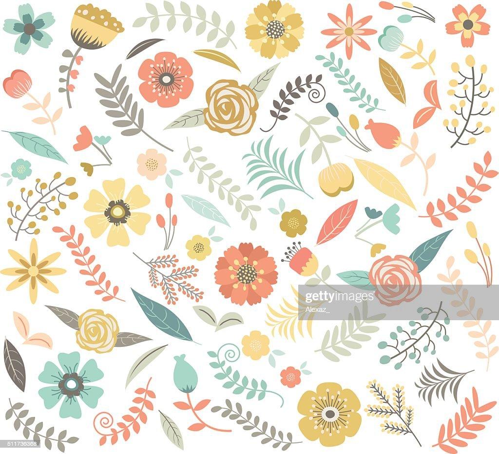 Wedding Floral Seamless Pattern