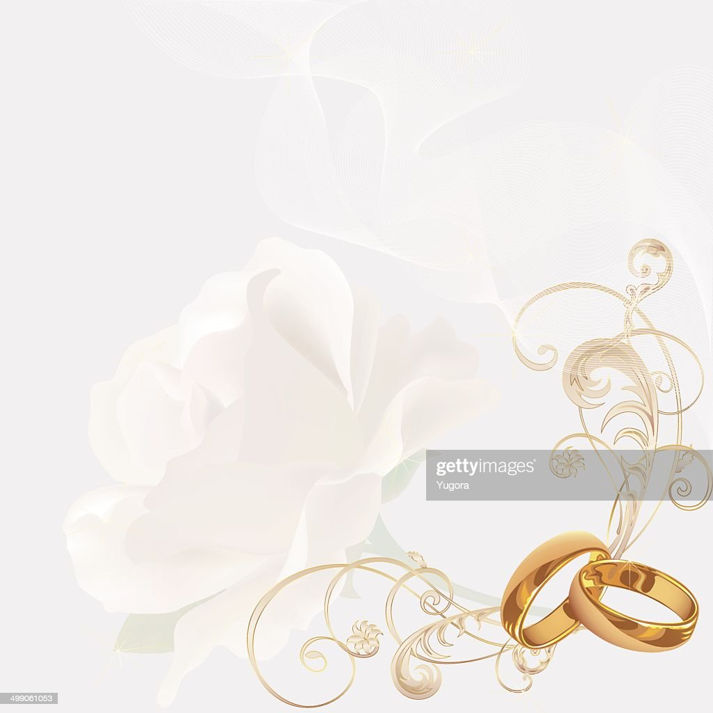 Wedding Invitation Background Vector Art Getty Images