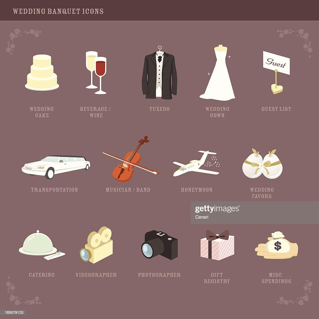 Wedding Planning icons (2)