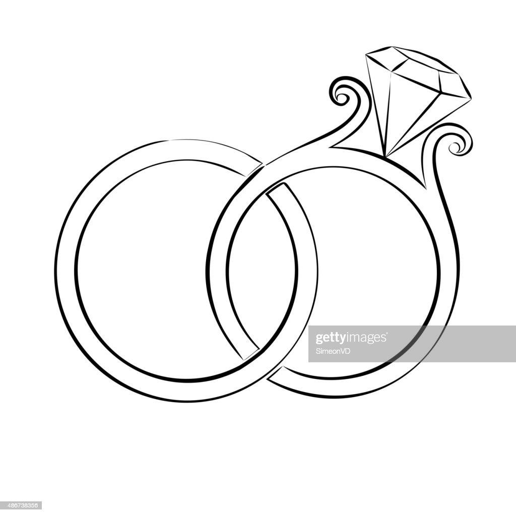 Wedding Rings Skech