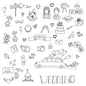 Wedding set icon