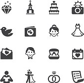 Wedding Silhouette Icons 1