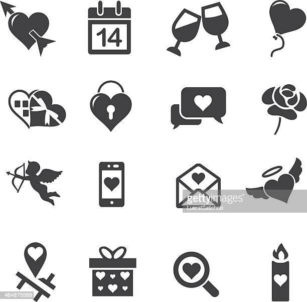 Iconos de boda Silueta 2