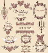 wedding vignette set