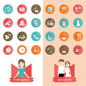 Weddingplaner 24 Icons