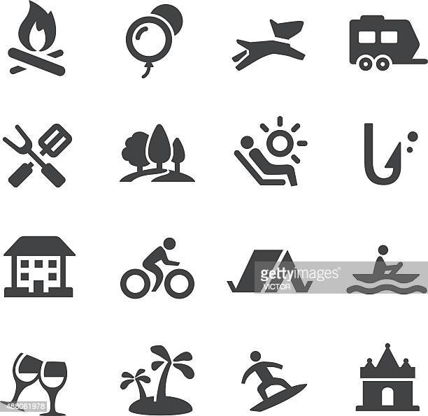 Weekend and Vacation Icons - Acme Series