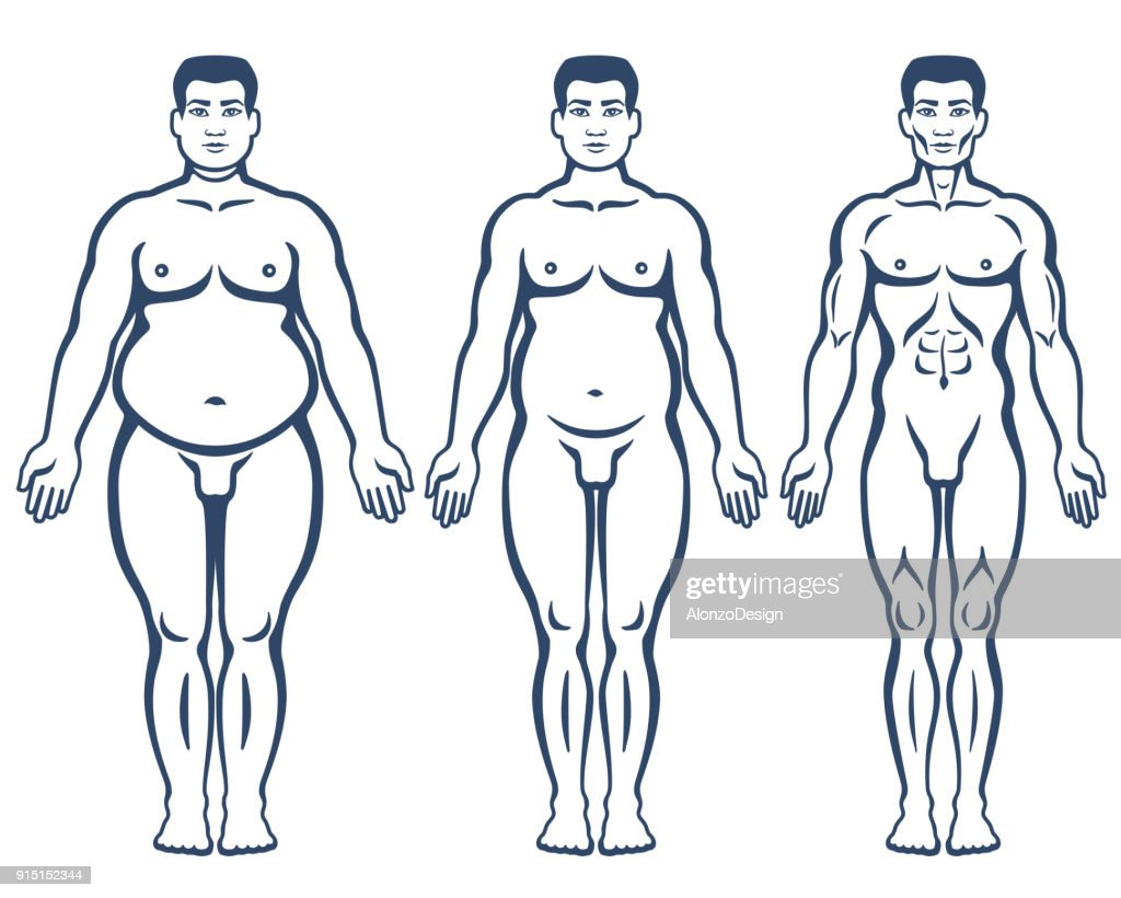 Weight loss steps : stock illustration