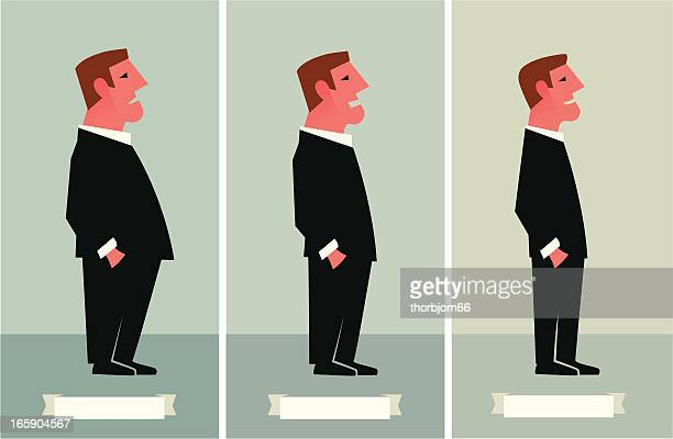 weight loss - leisure facilities stock illustrations, clip art, cartoons, & icons
