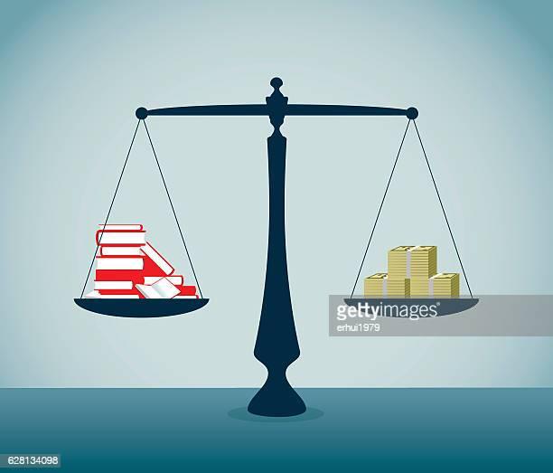 ilustraciones, imágenes clip art, dibujos animados e iconos de stock de escala de peso - balanzas de la justicia