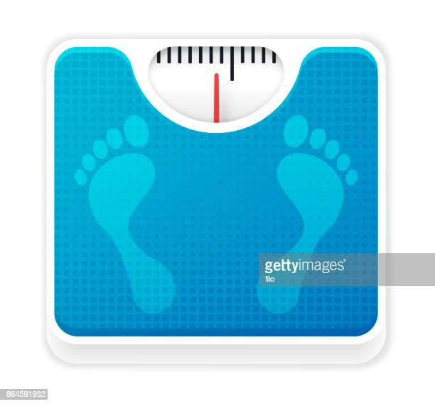 weight scale - weight stock illustrations