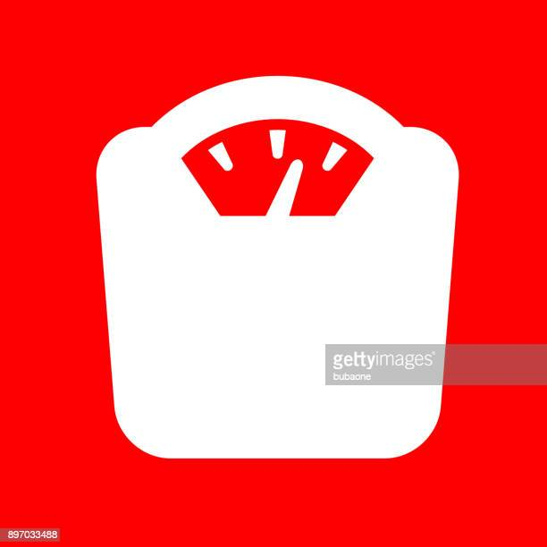weight scale. - obesity icon stock illustrations