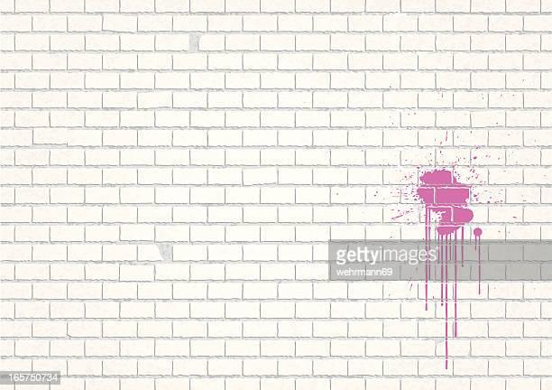 illustrations, cliparts, dessins animés et icônes de weisse mauer - mur de briques