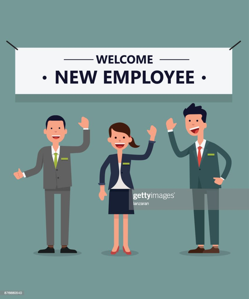 welcome new  employee