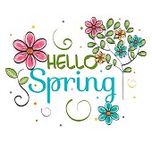 Welcome spring design