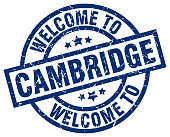 welcome to Cambridge blue stamp