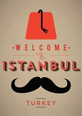 Welcome to Istanbul Poster