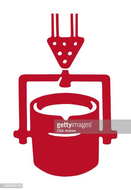 well bucket - pouring stock illustrations, clip art, cartoons, & icons