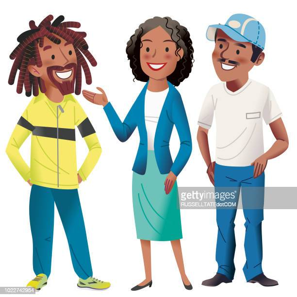 well done errol - african american woman stock illustrations, clip art, cartoons, & icons