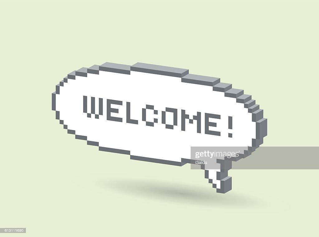 Wellcome bubble