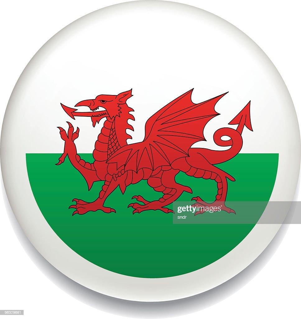 Welsh flag button