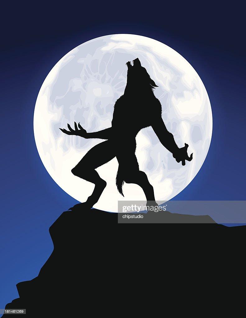 Werewolf Howl : stock vector