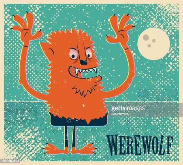 ilustrações de stock, clip art, desenhos animados e ícones de werewolf - lobisomem