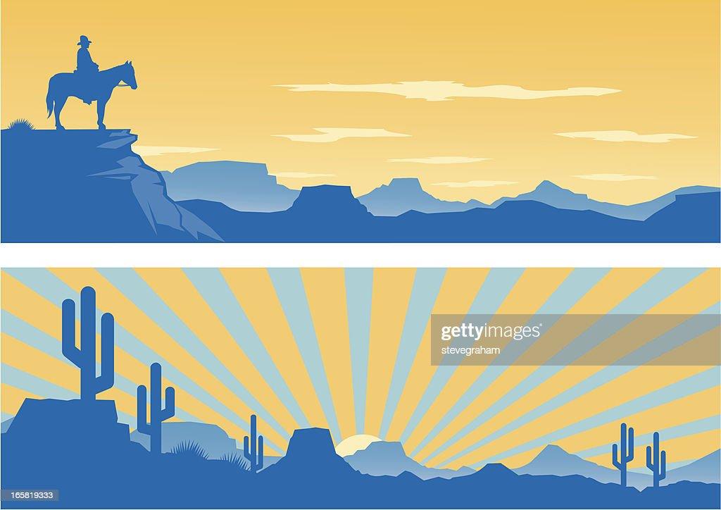 Western-Look : Stock-Illustration