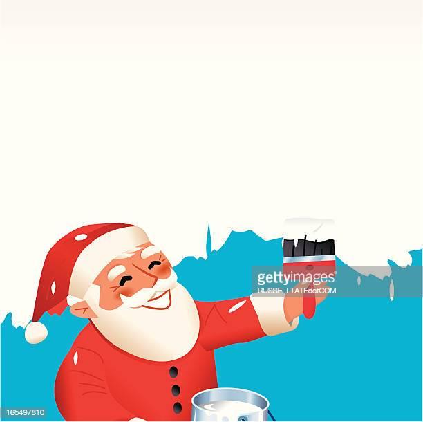 Wet Paint Santa
