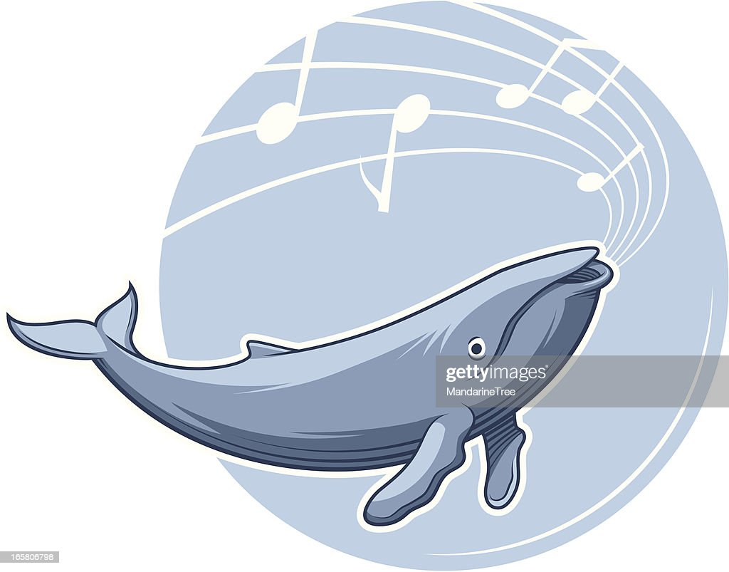 Whale Song : stock illustration