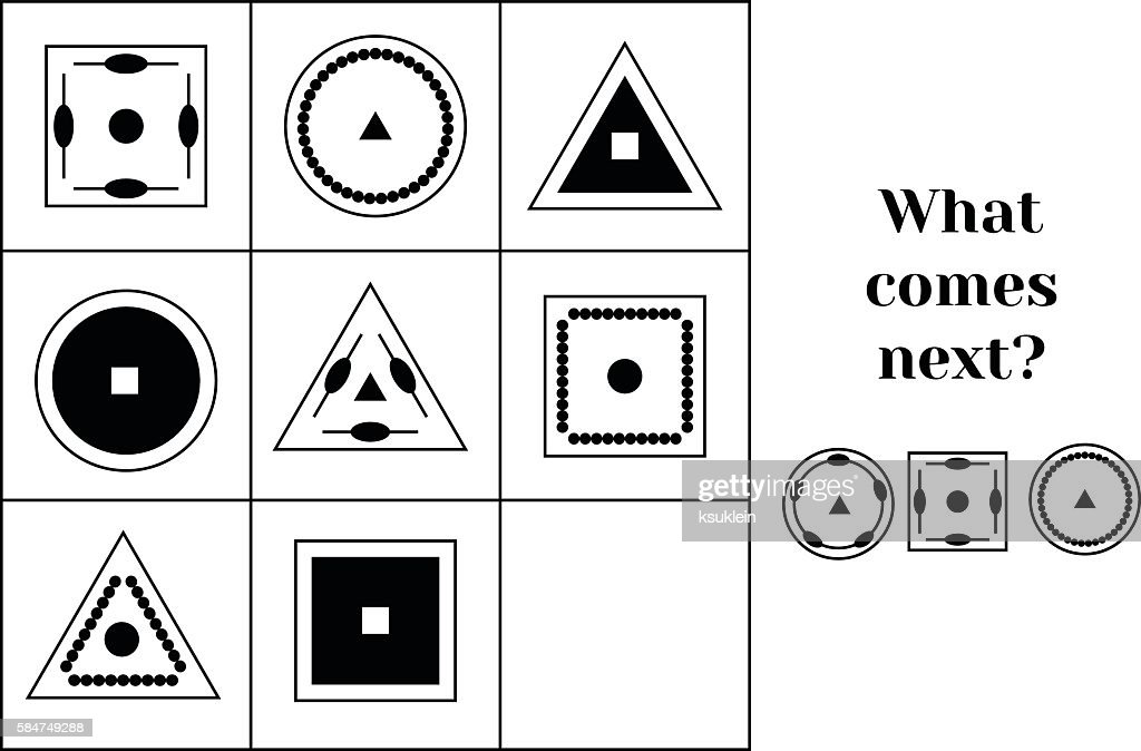 What comes next educational children game. Kids activity sheet, continue
