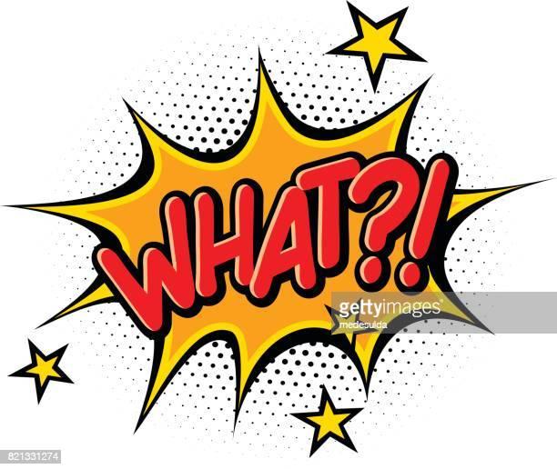 what?! - fun stock illustrations, clip art, cartoons, & icons