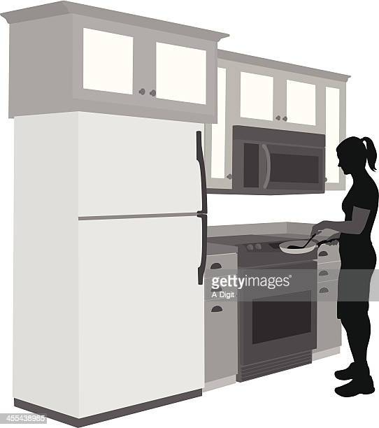 Whats Cooking? Vector Silhouette
