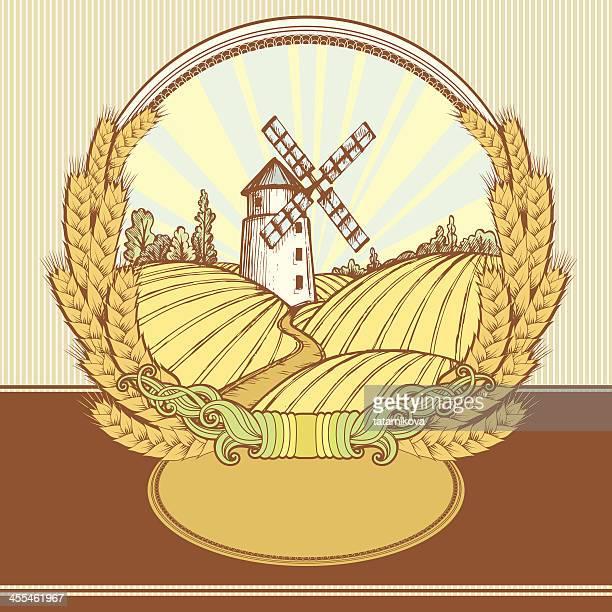 Wheat Label