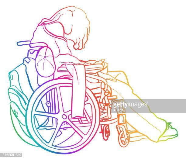 Wheelchair Bound MS Rainbow