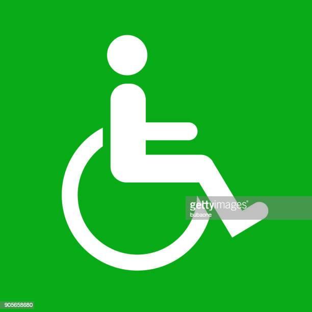 Wheelchair Disability Sign.